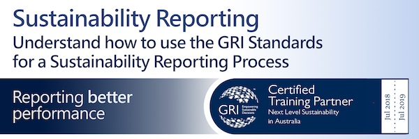 NRMjobs - 20001829 - GRI Certified Training Course on Sustainability Reporting