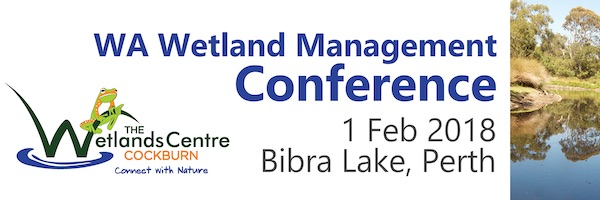 NRMjobs - 20002224 - WA Wetland Management Conference, 1st February 2019
