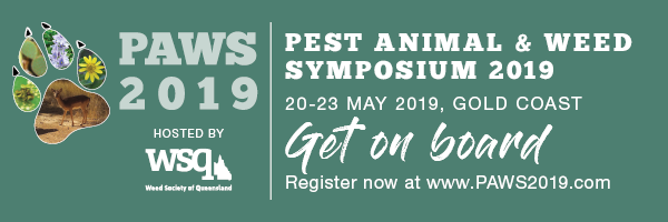 NRMjobs - 20002665 - PAWS: Pest Animal and Weed Symposium 2019 - 20-23 May