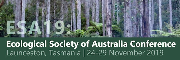 NRMjobs - 20003456 - ESA19: Ecological Society of Australia Conference
