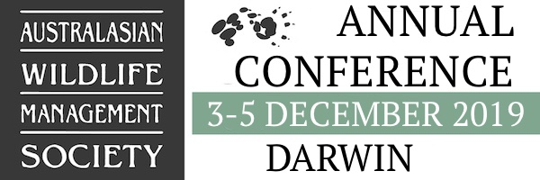 NRMjobs - 20003765 - 32nd Australasian Wildlife Management Society (AWMS) conference