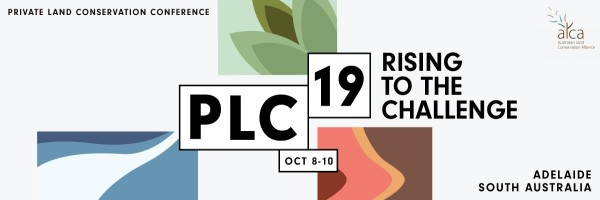 NRMjobs - 20003806 - 2019 Australian Land Conservation Alliance Conference (PLC19)