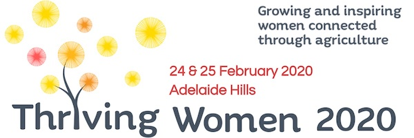 NRMjobs - 20004309 - Thriving Women 2020 Conference, Adelaide HIlls, 24-25 Feb 2020