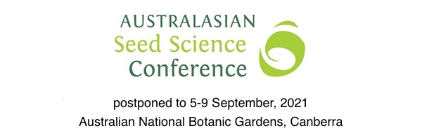 NRMjobs Notice 20004539 - Australasian Seed Science Conference - postponed to 5-9 September 2021