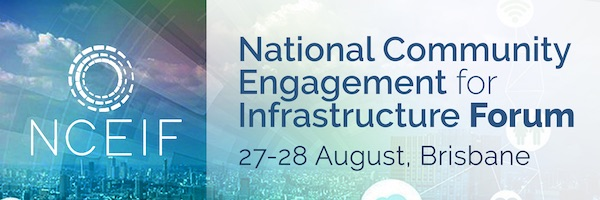 NRMjobs - 20004934 - National Community Engagement for Infrastructure Forum - NCEIF
