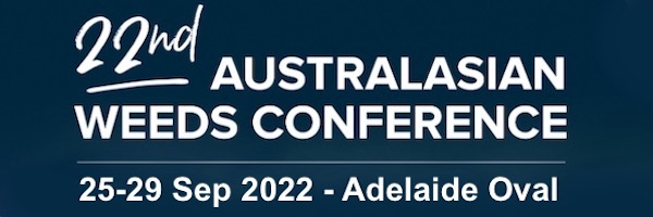 NRMjobs Notice 20005014 - Australasian Weeds Conference - 25-28 October, Adelaide