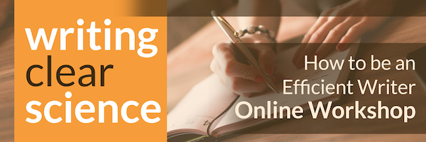 NRMjobs Notice 20005046 - Online Course: How to be an Efficient Writer