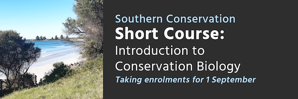 NRMjobs Notice 20005974 - Short Course: Introduction to Conservation Biology