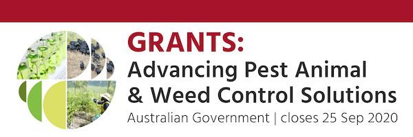 NRMjobs Notice 20006078 - Competitive grants: $13 million Advancing Pest Animal & Weed Control Solutions