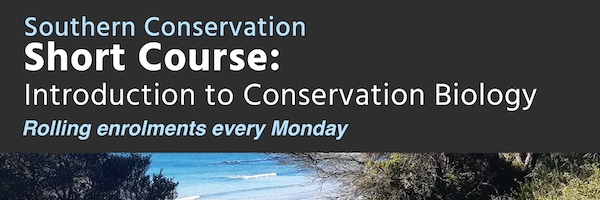 NRMjobs Notice 20006154 - Short Course: Introduction to Conservation Biology