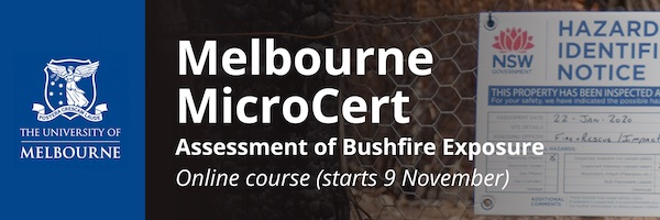 NRMjobs Notice 20006542 - Assessment of Bushfire Exposure