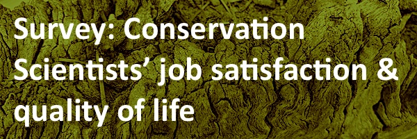 NRMjobs - 20006565 - Survey: Conservation Scientists' job satisfaction & quality of life