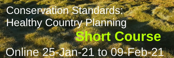 NRMjobs Notice 20006741 - Open Standards - Conservation Standards / Healthy Country Planning workshop