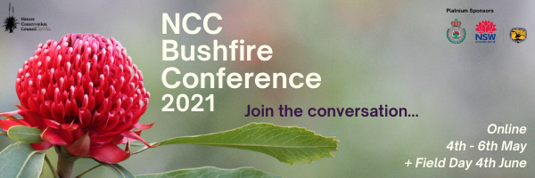 NRMjobs Notice 20007876 - NCC 2021 Bushfire Conference